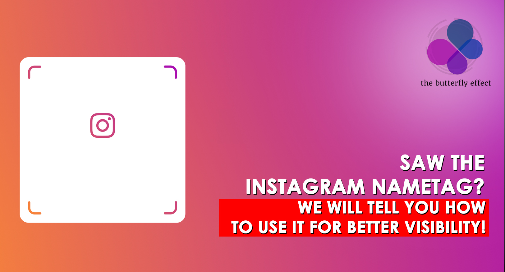 How to Use the Instagram Name-tag in the Middle East - TBECo